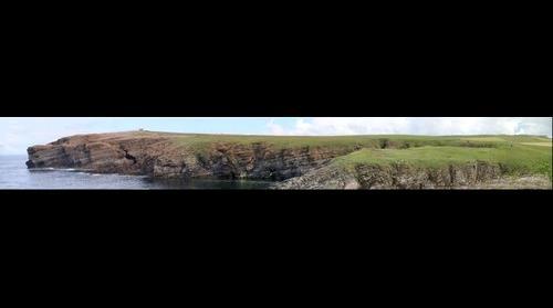 Lake strata, Yesnaby Coast, Orkney