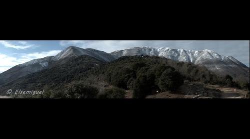 Panorámica en el Montseny
