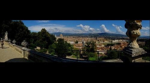 Florencia (Italia) desde los jardines Bardini - Florence (Italy) from the Bardini gardens