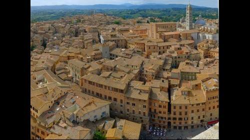 Siena (Italia) desde la torre del Mangia - Siena (Italy) from the Mangia tower