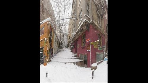Snow in Istanbul 17 -  Pera Istanbul