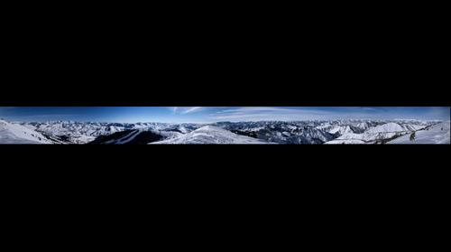 360 from top of Mt Bald Sun Valley