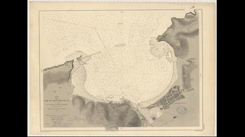 Plan de la Baie de Saint Jean de Luz