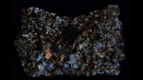 Peekskill Meteorite Thin Section