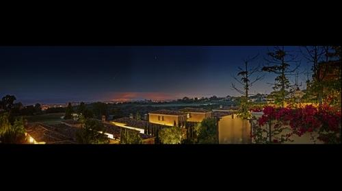This is not HDR - Morning Fog hangs over Corona Del Mar