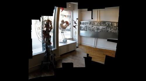 Yvon Benoit � la galerie la petite mort gallery 001