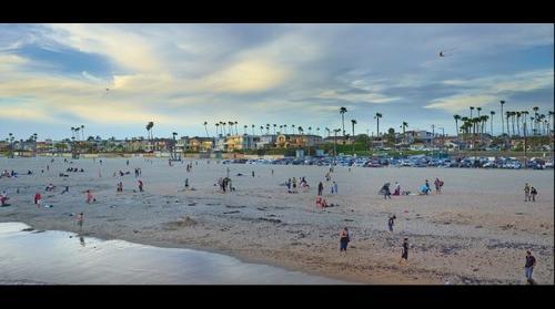 Seal Beach, CA in March of 2014 in sRGB
