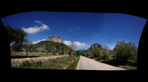 Alpine Thrusting and Erosion near Alaró Mallorca