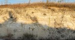 Roadcut Two Miles South of Codell, Kansas - Cretaceous Niobrara Formation, Fort Hays - Smoky Hill Members Contact