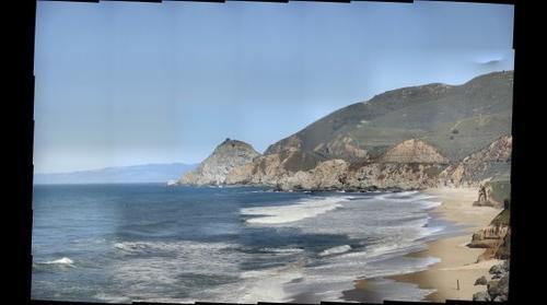 Beach profile - view from Montara Beach