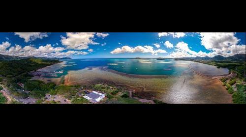 Paepae o He'eia Fishpond, Kaneohe Bay Hawaii