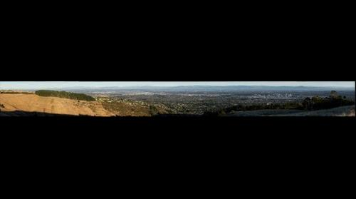 View of Christchurch from Huntsbury #12