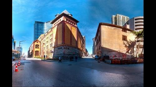 Bomontiada - Şişli Istanbul HDR Panorama