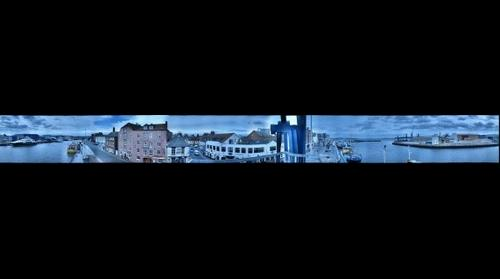 360 panorama Poole Harbour, UK