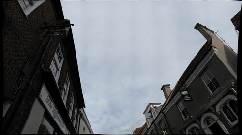 Vertical Street in Poole