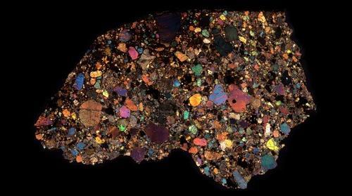 NWA 8251 Meteorite Thin Section
