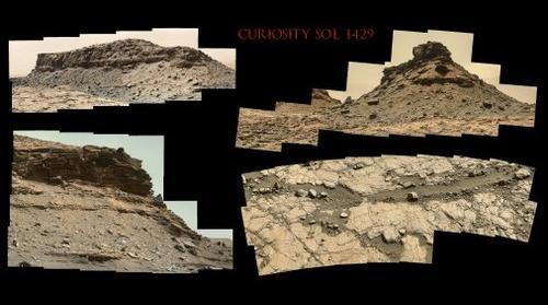 Curiosity Sol 1429