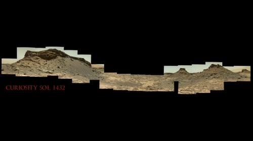 Curiosity Sol 1432