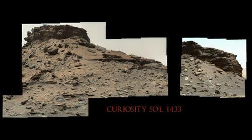 Curiosity Sol 1433