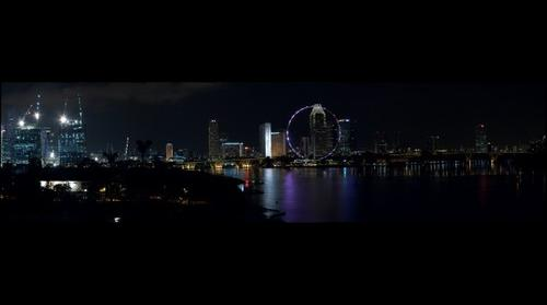 Singapore Skyline from Marina Barrage (v2)