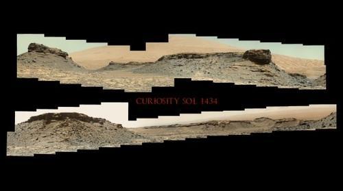 Curiosity Sol 1434