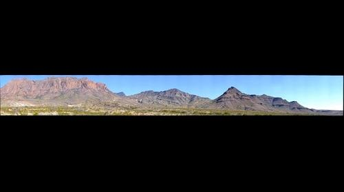 Big Bend National Park, Large Fold