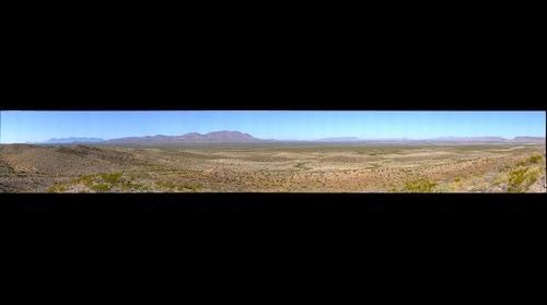 Big Bend National Park, Dagger Mountain area, Rosillos Mountain