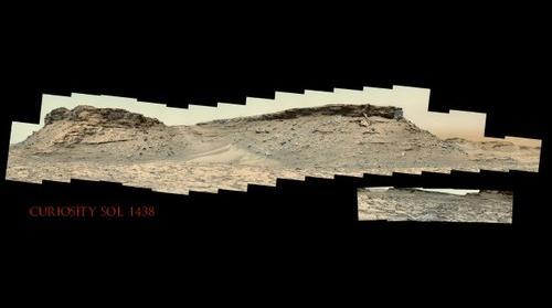 Curiosity Sol 1438
