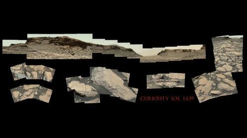 Curiosity Sol 1439