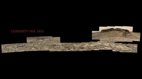 Curiosity Sol 1443