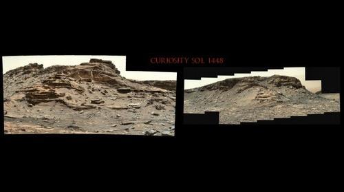 Curiosity Sol 1448