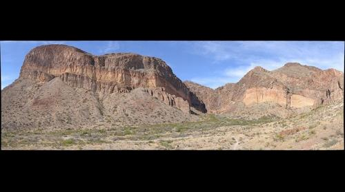 Big Bend National Park, Burro Mesa, Volcanism