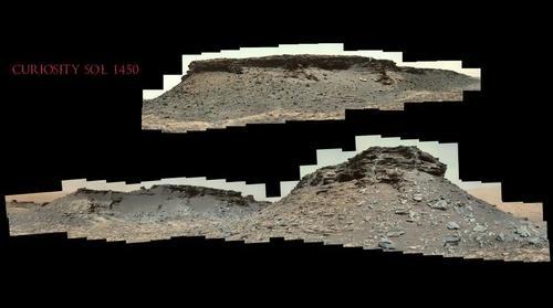 Curiosity Sol 1450