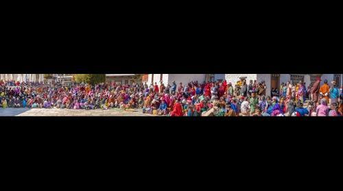 Crowd at Jambey Lhakang