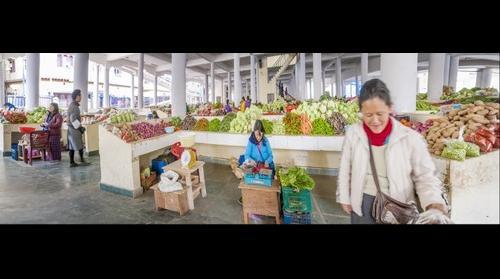 Timphu Vegetable Market