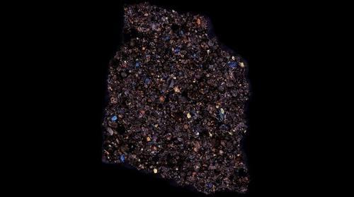 Saratov Meteorite Thin Section