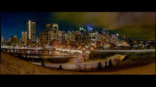 One Week Before Earth Hour 2017 Calgary