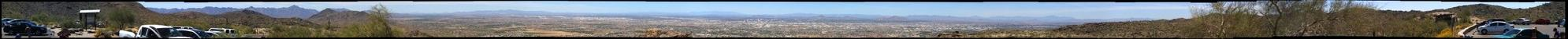 Phoenix, AZ - View from Dobbins Lookout, South Mountain Park