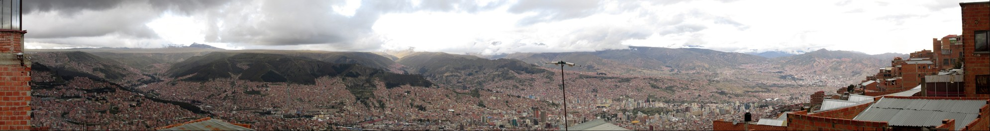 La Paz, as seen from La Ceja