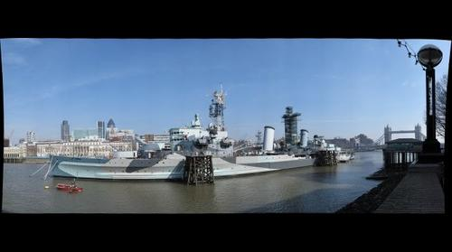 HMS Belfast, Southbank, London