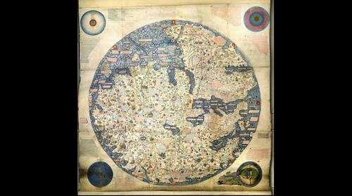 Fra Mauro Mappamundi 1450