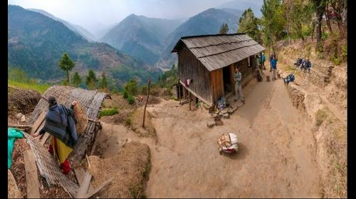 Khimti Khola Valley from above