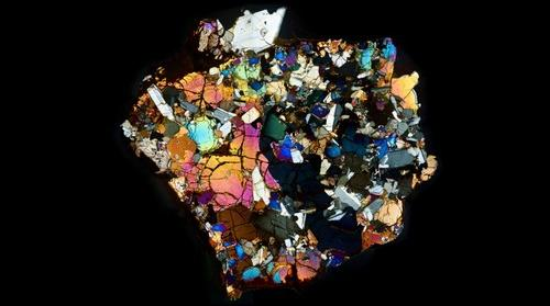 NWA 10646 Meteorite Thin Section