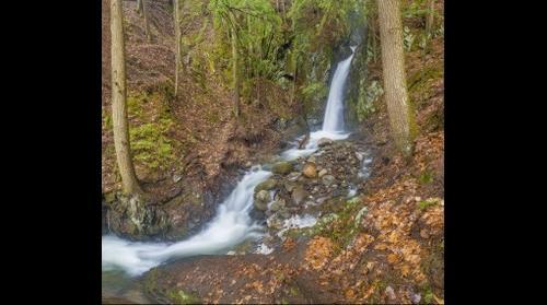 Glen Falls, second fall