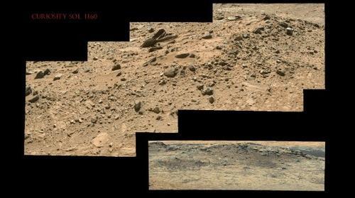Curiosity Sol 1160