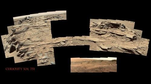 Curiosity Sol 751
