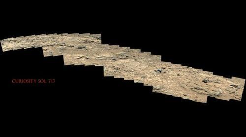 Curiosity Sol 717
