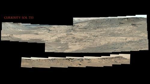 Curiosity Sol 753