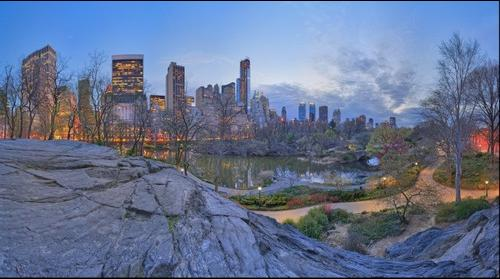 Dreamscape: Nightfall at The Pond (Remastered), Central Park, NYC