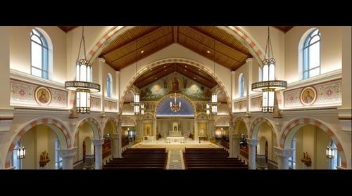 St Pius X | From the choir loft - Granger, IN